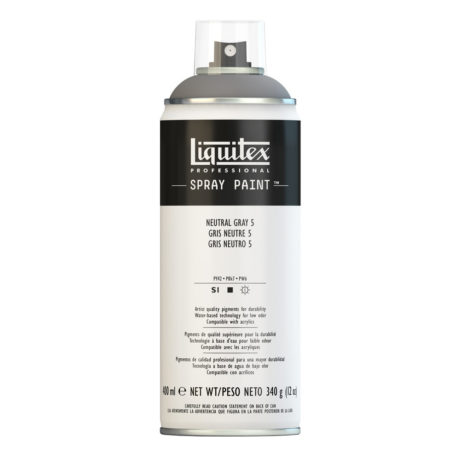 LIQUITEX spray gris neutro 5 bote 5599 1