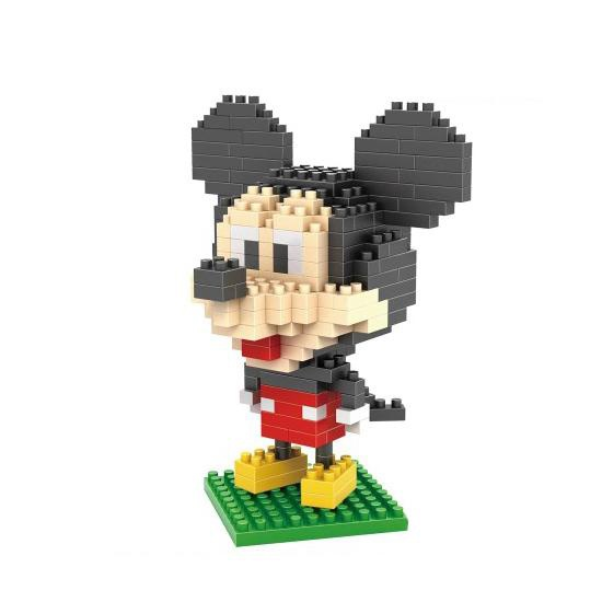 dismoer LOZ 9413 mickey mouse diamond blocks minifigura