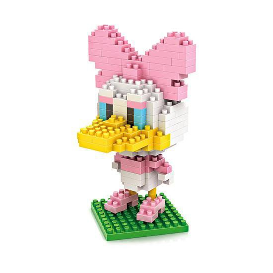 dismoer LOZ 9416 daisy duck diamond blocks minifigura