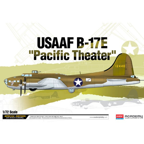 dismoer academy avion usaaf b 17e pacific theatre old 666 172 1