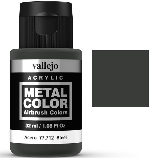 metal color vallejo acero 32ml 1