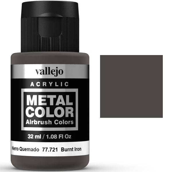 metal color vallejo hierro quemado 32ml 1