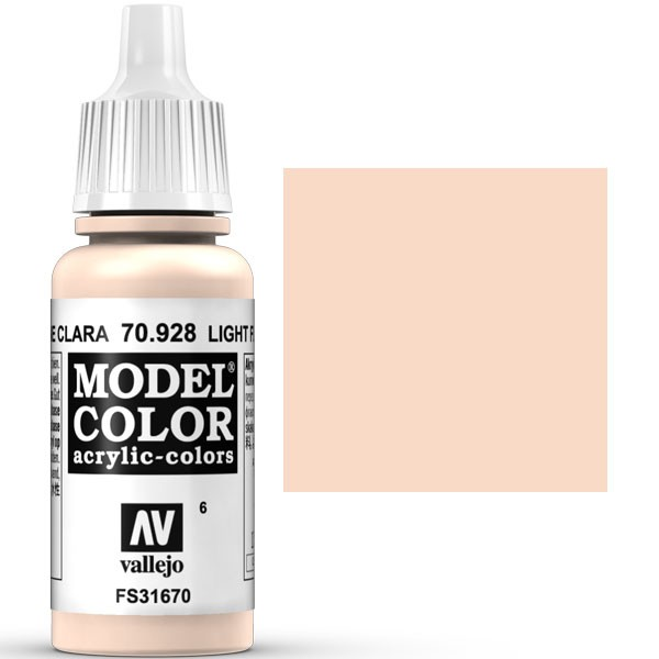 model color carne clara 17ml 6 1