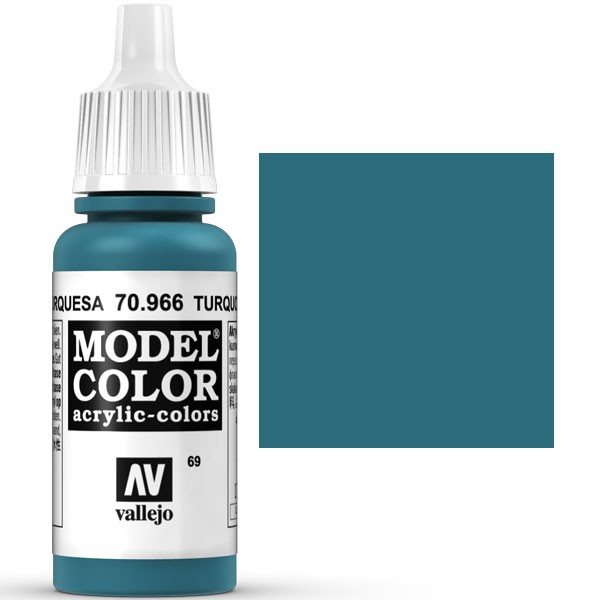 model color turquesa 17ml 69 1