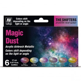 vallejo set 6 the shifters magic dust 17ml 1