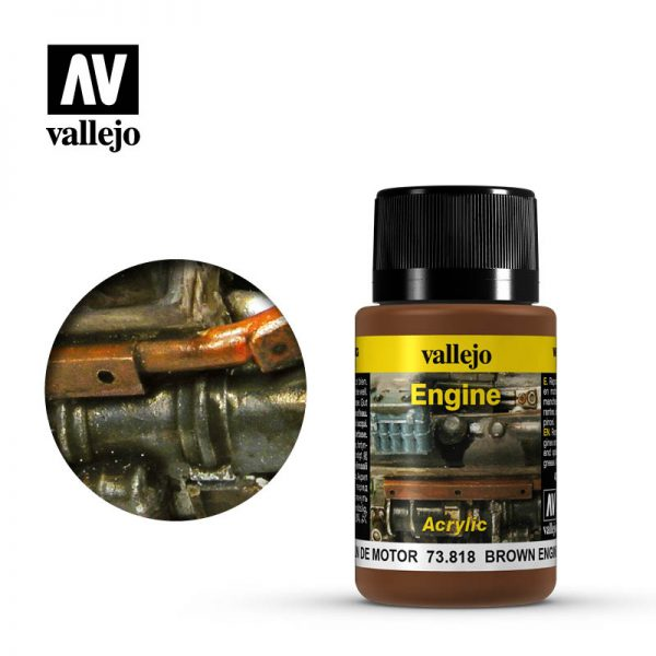 vallejo weathering effects brown engine soot 73818 1