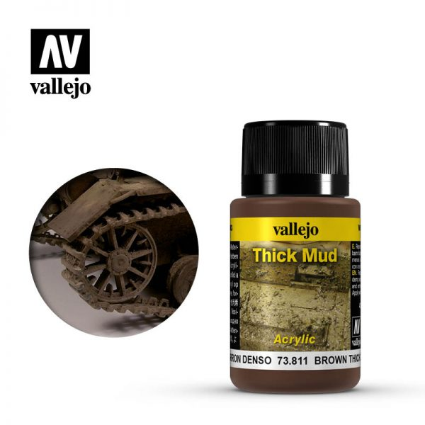 vallejo weathering effects brown thick mud 73811 1