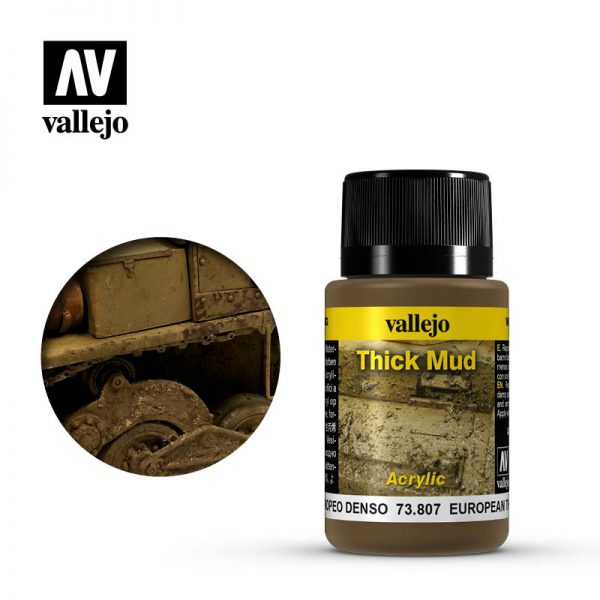 vallejo weathering effects european thick mud 73807 1