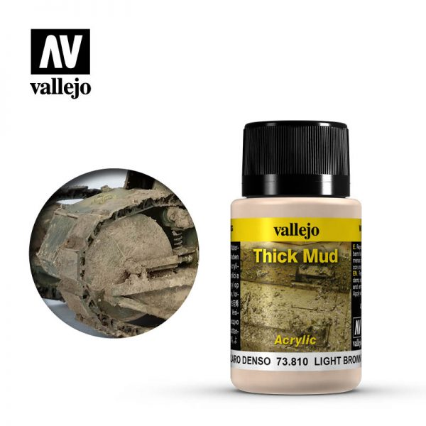 vallejo weathering effects light brown thick mud 73810 1