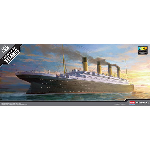academy the white star liner titanic 1 400