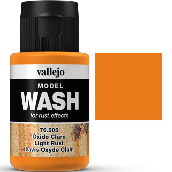 vallejo model wash oxido claro 35ml