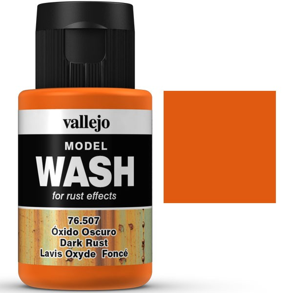 vallejo model wash oxido oscuro 35ml