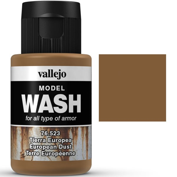 vallejo model wash tierra europea 35ml