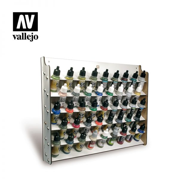 vallejo paint stand wall mounted 17ml vallejo 26010 1