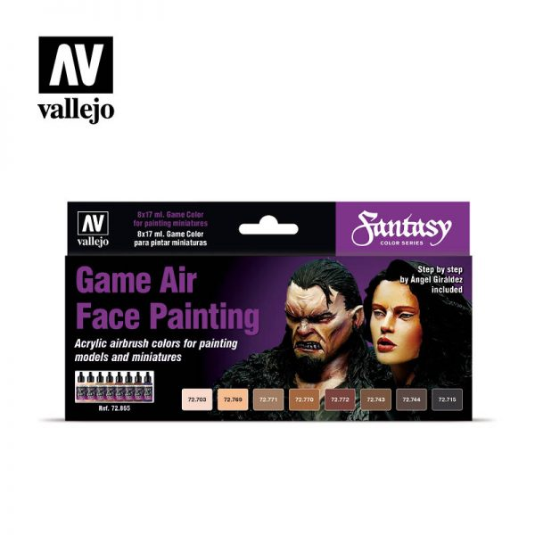 vallejo Game Air Face Painting vallejo fantasy 72865