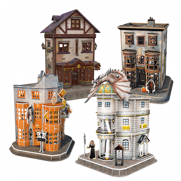 worldbrands DS1009h HP Diagon alley set producto web