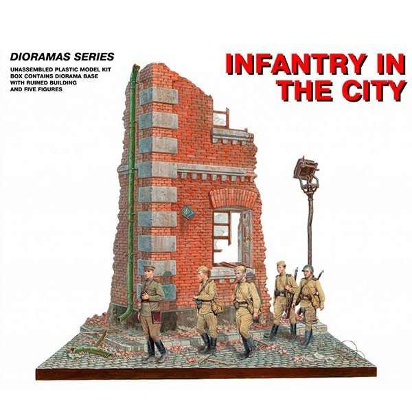 miniart 36014 diorama infantry in city 1 35
